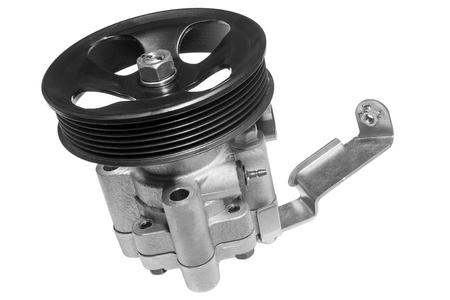 power steering pump on a white background Stock Photo - 53108348