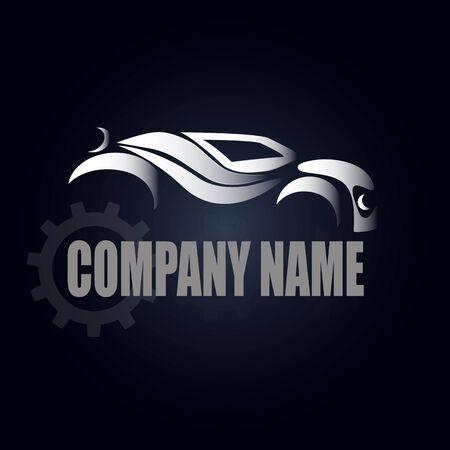 manufacturer: Car manufacturer on a dark background