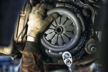 Replacement Car Clutch Stock Photo