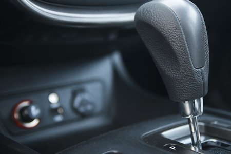 車のギア ボックス 写真素材
