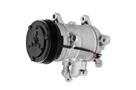 Car air conditioner compressor on a white background Reklamní fotografie