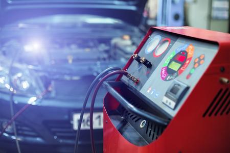 installation refills car air conditioner