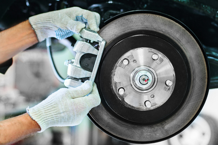vehicle brake system check Imagens