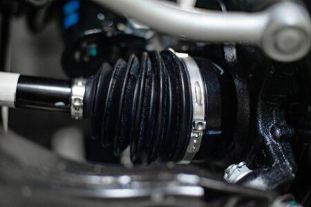 Car wheel drive cover Stock Photo - 131914507