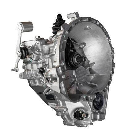 Autogetriebe auf weißem Hintergrund