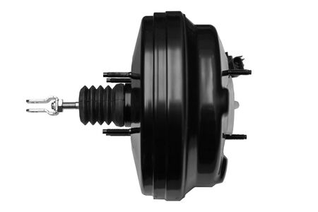 new car booster assy brake on a white background