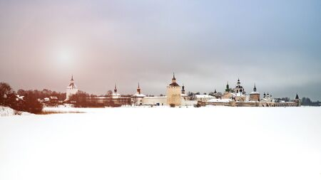 View of the Kirillo-Belozersky Monastery