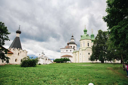 Kirillo-Belozersky monastery. Monastery of the Russian Orthodox Church. Located in the city of. Imagens