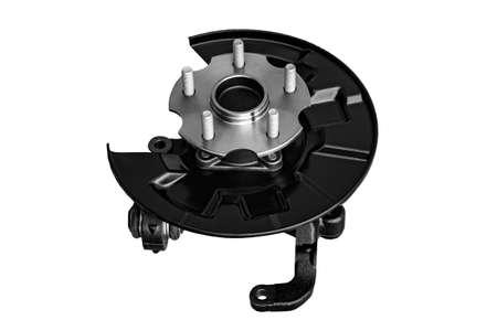 car suspension element, hub and lever