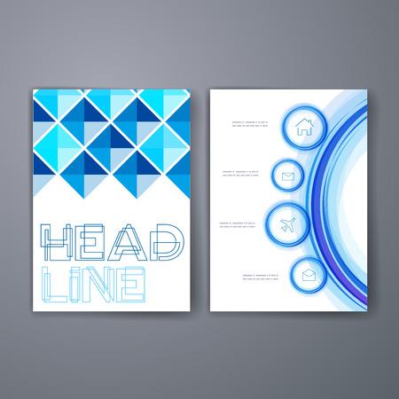 templates set of flyer brochure design templates mobile