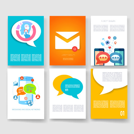 magazine design: Templates. Design Set of Web, Mail, Brochures. Mobile, Technology, and Infographic Concept. Modern flat and line icons. App UI interface mockup. Web ux design.