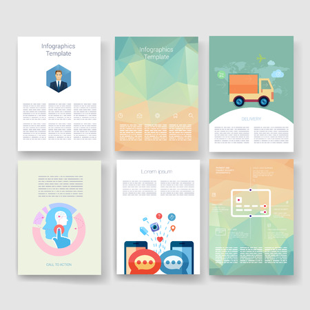 web mail: Templates. Design Set of Web, Mail, Brochures. Mobile, Technology, and Infographic Concept. Modern flat and line icons. App UI interface mockup. Web ux design.