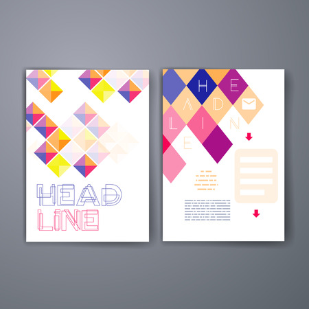templates vector flyer brochure magazine cover template can