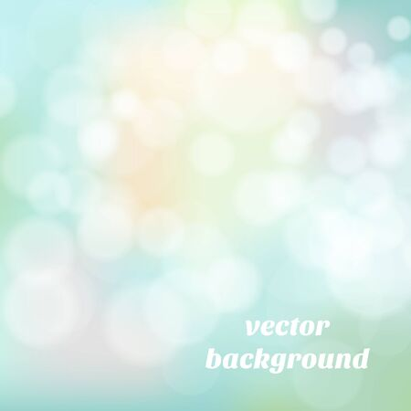 boke: Abstract colorful background with beautiful boke. Vector illustration.