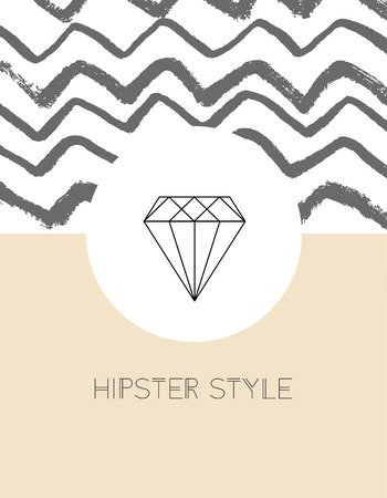 Vector line logos and icons. Line design elements for invitations and greeting cards. Vector emblems and badges. Abstract hipster logo templates. Vettoriali