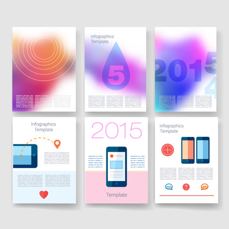 blank space: Templates. Design Set of Web, Mail, Brochures. Mobile, Technology, and Infographic Concept. Modern flat and line icons. App UI interface mockup. Web UI design.