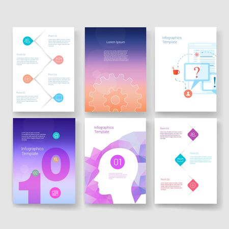 line design: Templates. Design Set of Web, Mail, Brochures. Mobile, Technology, and Infographic Concept. Modern flat and line icons. App UI interface mockup. Web ux design.