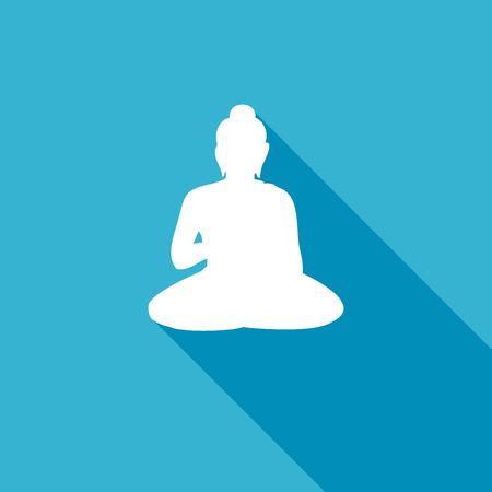 buddha lotus: Buddha icon