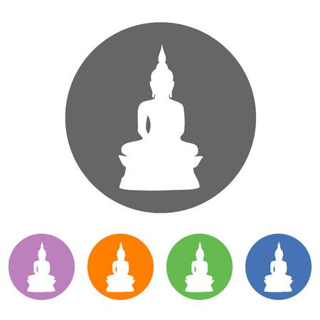 bouddha: Bouddha ic�ne Illustration
