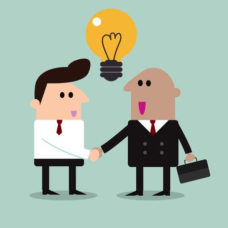 dogma: business partners handshaking  Business people shaking hands