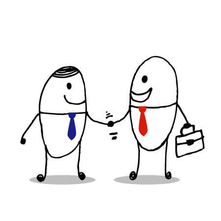 dogma: business partners handshaking  Business people shaking hands