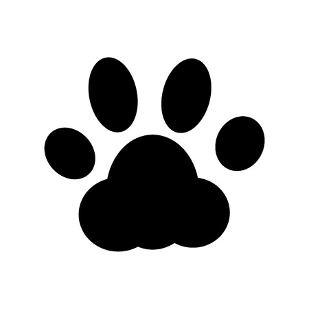 Paw Print. Vector Vector