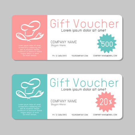 gift pattern: Gift voucher template and modern pattern. Voucher template with premium pattern, gift Voucher template with colorful pattern. bright concept.