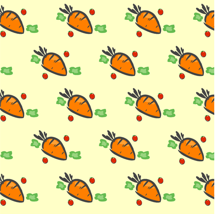 carrot isolated: Carrot pattern, Carrot background, Carrot wallpaper, Carrot vector eco food illustration, Carrot background.
