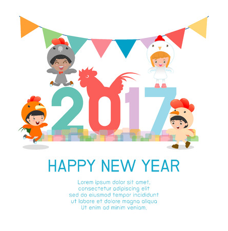 new years background: Happy new year 2017