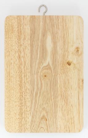 Butcher block wooden chopping board