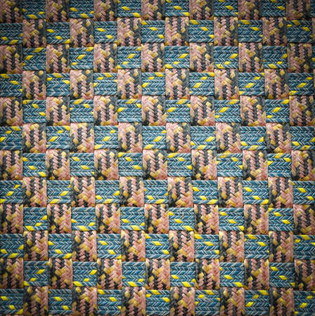 rattan: Close up pattern of rattan background.