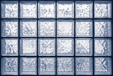 Pattern of glass block wall Stock Photo