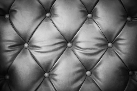 Close up leather sofa background photo