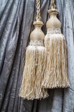 Curtain tassel for interior house
