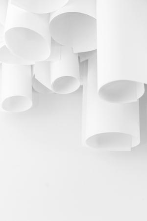 einrollen: Rollenpapier abstrakten Hintergrund Lizenzfreie Bilder