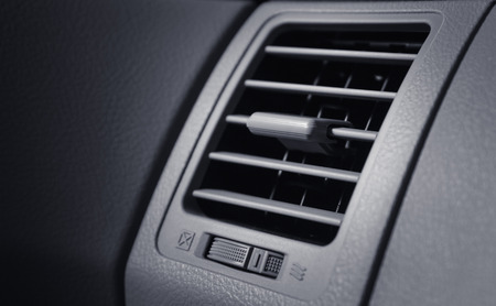Air conditioner in modern car photo