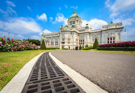 king palace: Dusit Palace in Bangkok, Thailand King palace