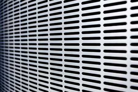 repetition: Metal grate background