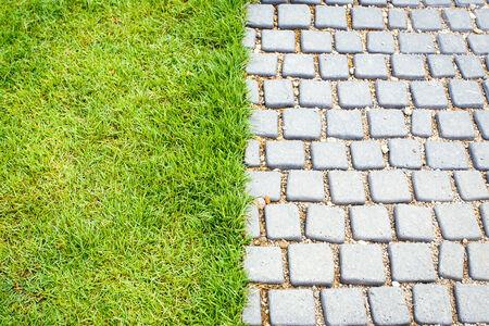 sidewalks: Stone path in the garden