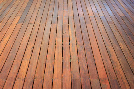 wooden decking Stock Photo