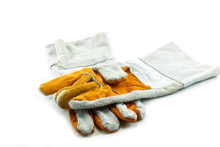 Work Gloves Isolated on white background photo