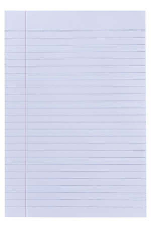 looseleaf: Lined paper background