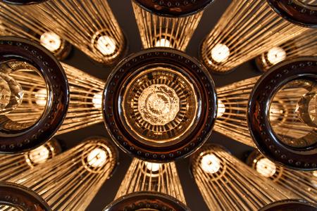 Modern ceiling lighting photo