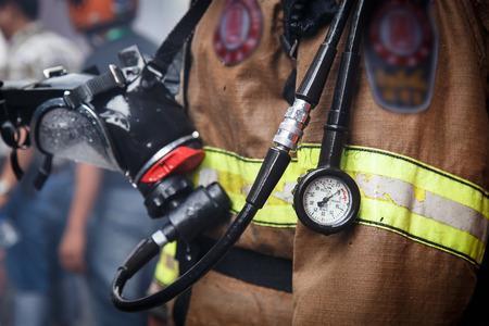 Brandweerman Stockfoto - 33132259