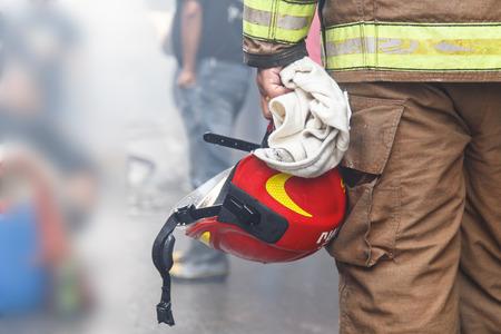 Brandweer man Stockfoto - 33132260