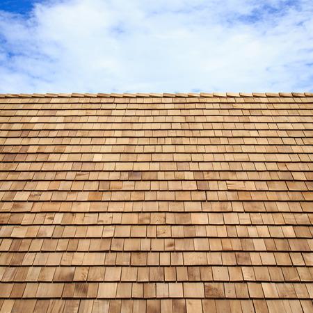 木製の屋根屋根板テクスチャ