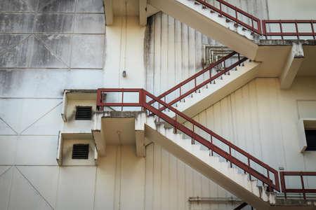rungs: Escalera hasta la azotea de edificio