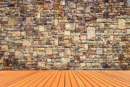 Natursteinmauer Textur für den Hintergrund Lizenzfreie Bilder