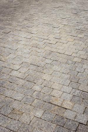 Granite stone path walkway photo