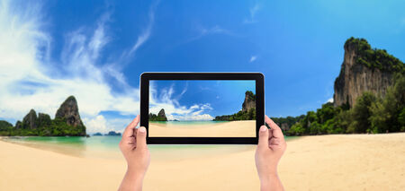 thailand: Railay beach, Krabi, Andaman sea Thailand